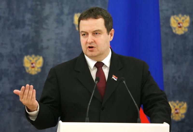 Дачич: антироссийские санкции противоречат интересам Сербии, и она их не поддержит