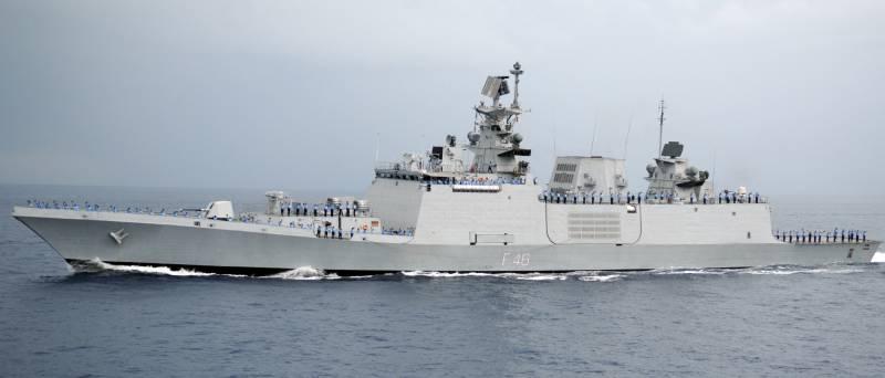 Серия малозаметных фрегатов «Проекта -17А»: индийский рецепт гонки вооружений с Китаем