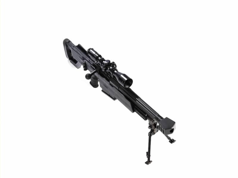 Крупнокалиберная снайперская винтовка Truvelo CMS 20x42 mm (ЮАР)