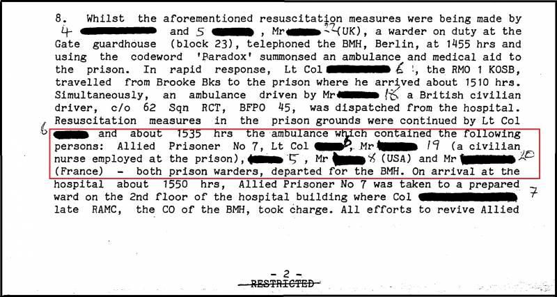 Зачем фальсифицировали расследование в Шпандау? Часть 1
