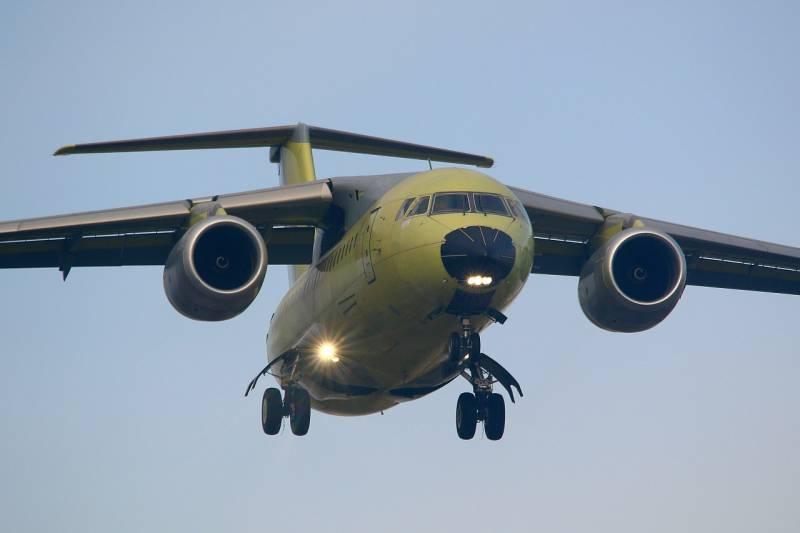 В Воронеже начались испытания очередного Ан-148 для Минобороны РФ