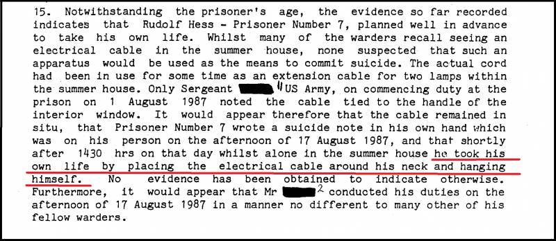 Зачем фальсифицировали расследование в Шпандау? Заключение