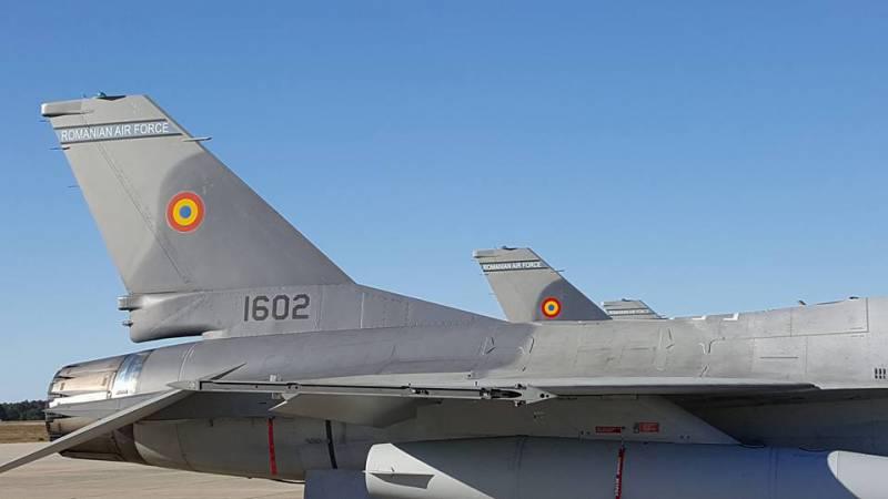Румыния получила первую партию F-16