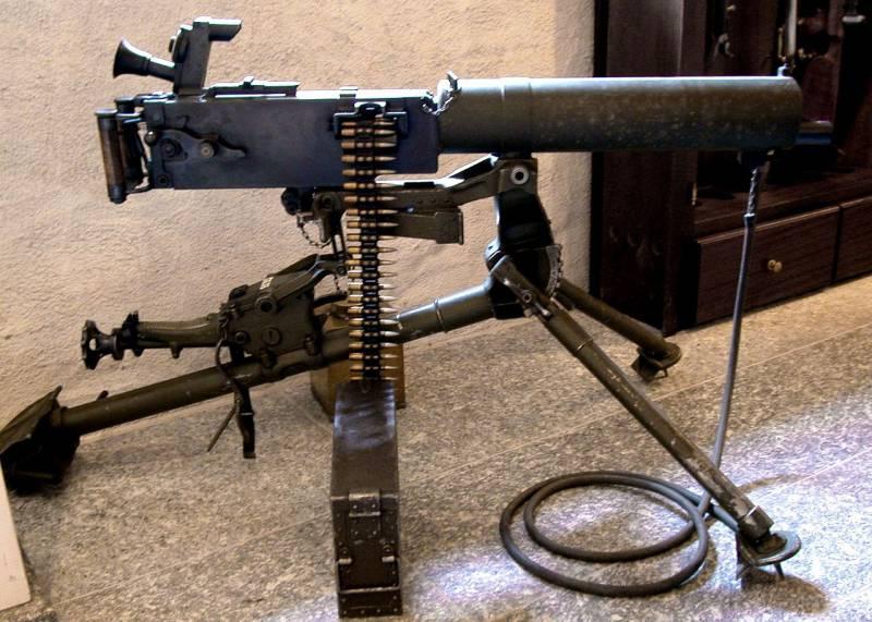 «Максимы» для Швейцарии. Пулемет MG00
