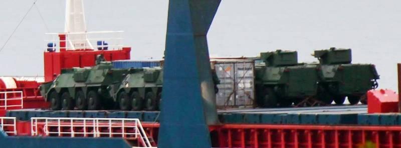В Индонезию прибыли 4 украинских БТР-4М