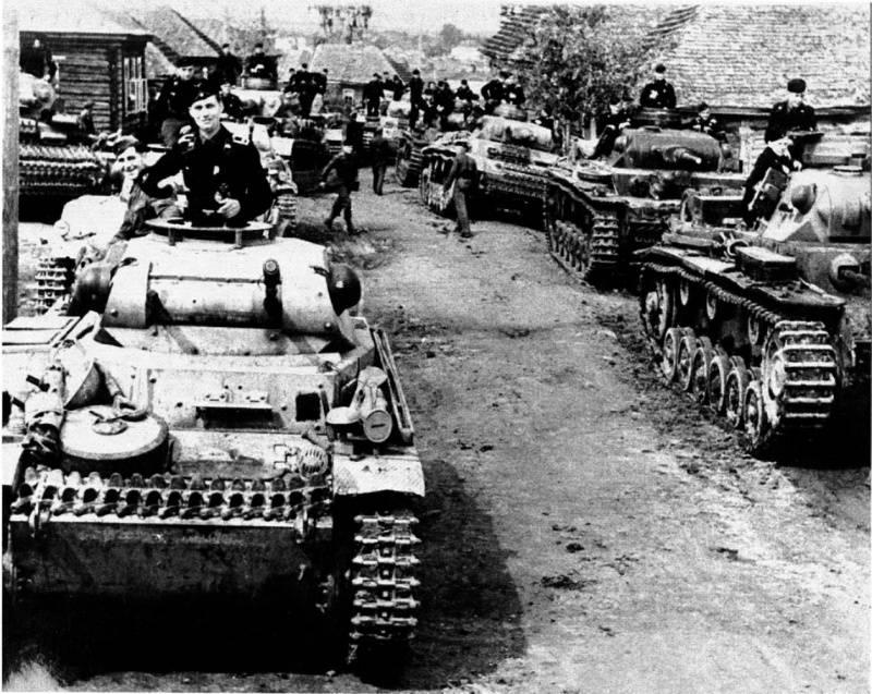 Катастрофа Красной Армии под Вязьмой и Брянском