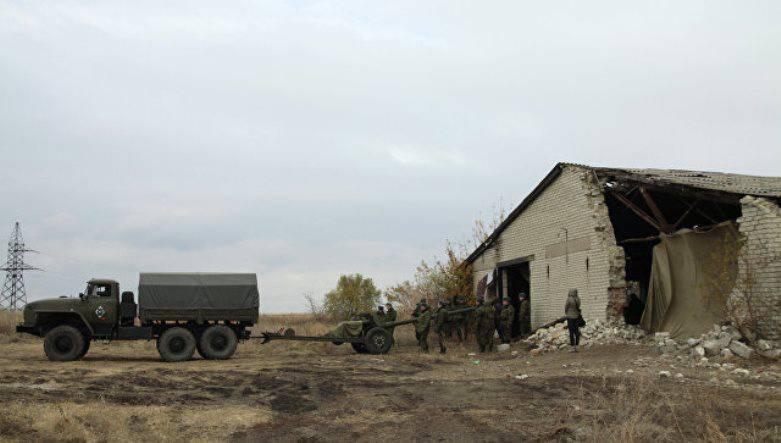 Киев срывает процесс разведения сил в Донбассе