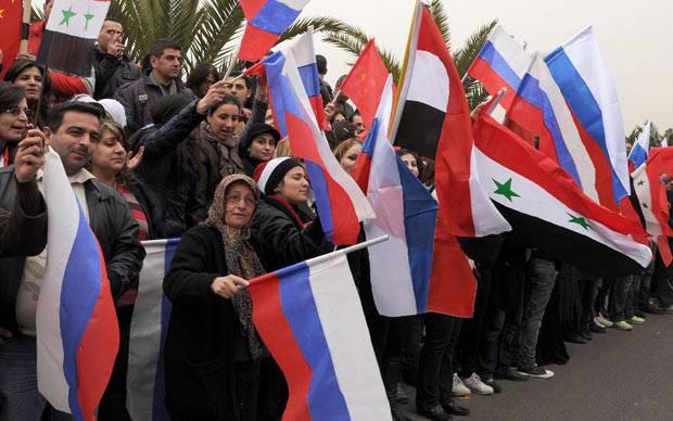 Дамаск – Москва: год совместной борьбы