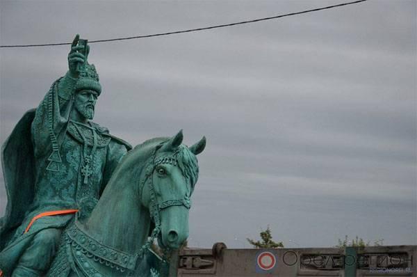 Памятник Ивану Грозному установили в Орле