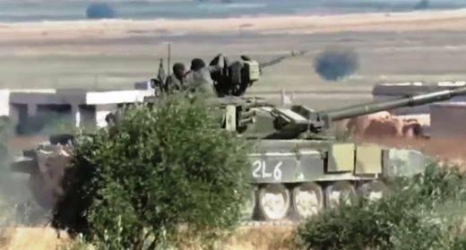 Т-90 в Сирии: почти год на войне - некоторые итоги