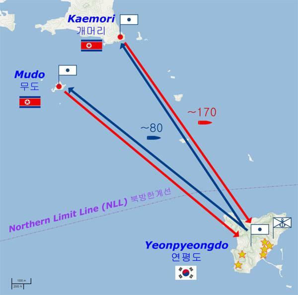 Морская пехота США и Южной Кореи проводит учения у границ КНДР