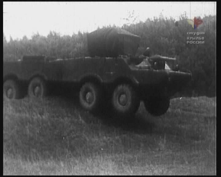 Проект тактического ракетного комплекса «Ястреб»