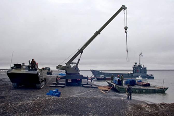 На арктические острова доставлено 190 тыс. тонн грузов для строительства спецобъектов