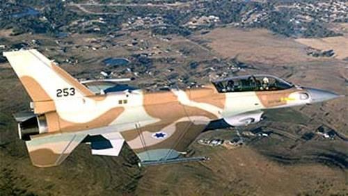 Крушение F-16I Sufa ВВС Израиля, бомбившего Газу