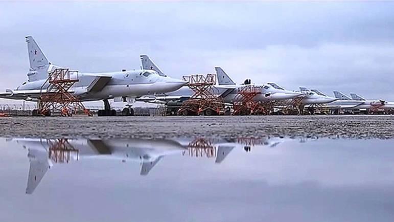 СМИ: в РФ сформирована новая дивизия дальних бомбардировщиков