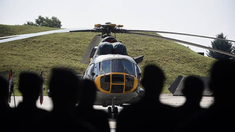 Поставленные в Ирак российские вертолёты снимаются с гарантии
