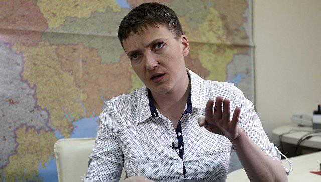 Савченко пыталась попасть в Донецк для встречи с Захарченко