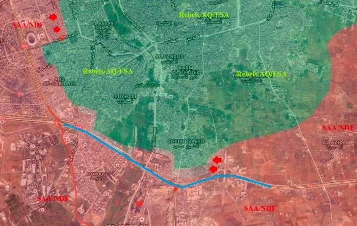 """МО РФ: """"Оппозиция"""" в Алеппо минирует коридоры выхода мирного населения"""