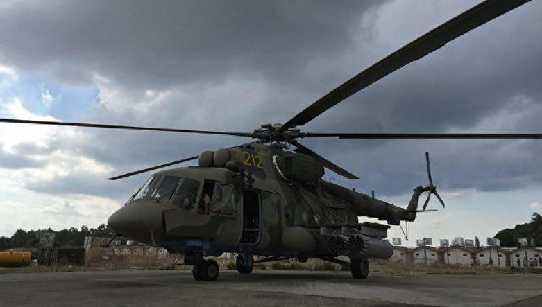 В Сирии обстрелян российский МИ-8, доставлявший гуманитарный груз в Хаму
