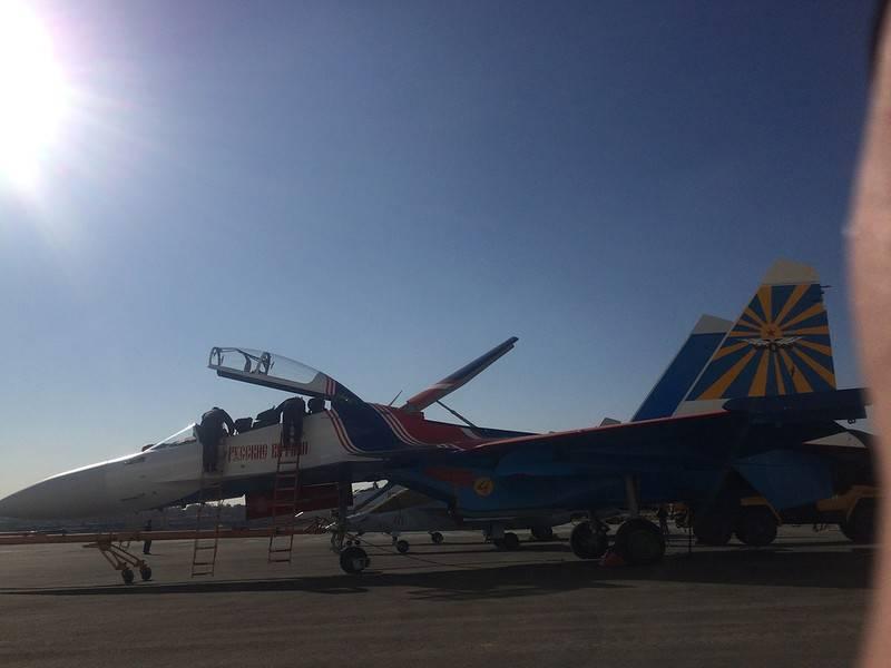 «Русские Витязи» получили новые Су-30СМ