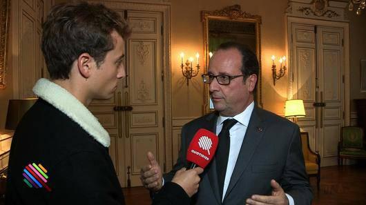 Олланд не знает, нужно ли ему встречаться с президентом РФ в Париже