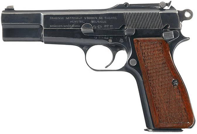 Краткая история пистолетов-карабинов. Часть 4. FN Browning GP-35 с отъёмным прикладом