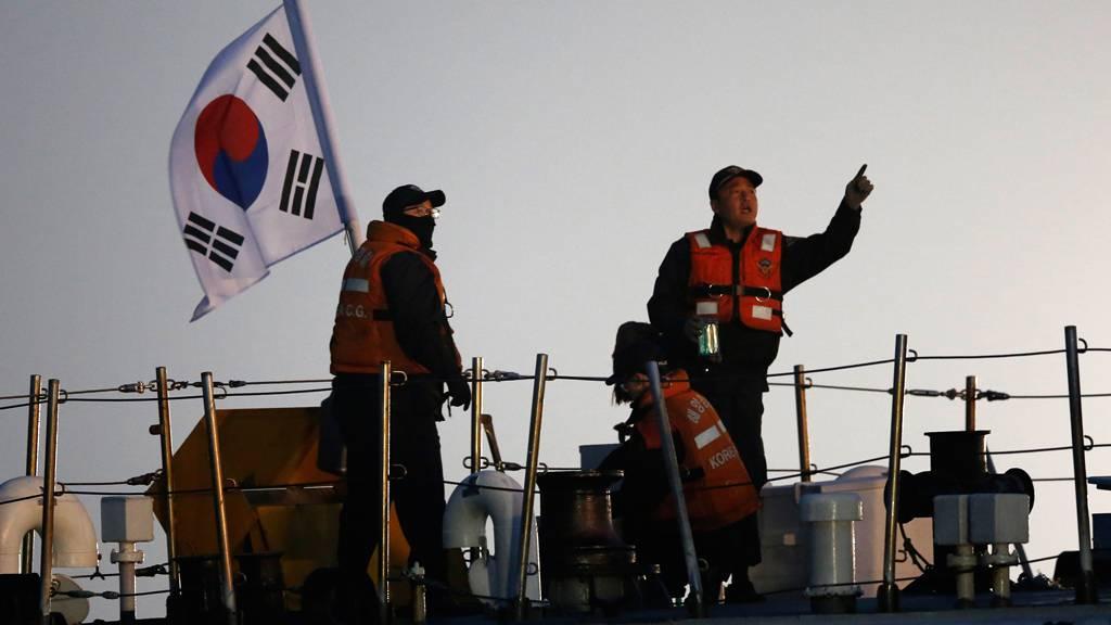 Южнокорейской береговой охране разрешили стрелять покитайским браконьерам