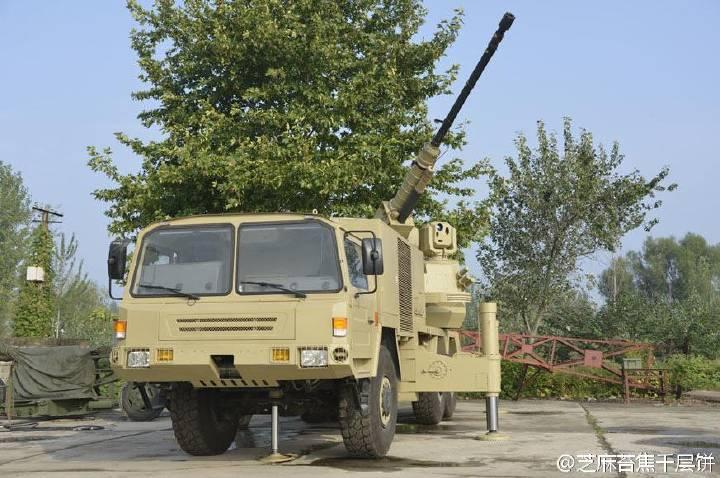 Проект зенитной самоходной установки SA2 (Китай)