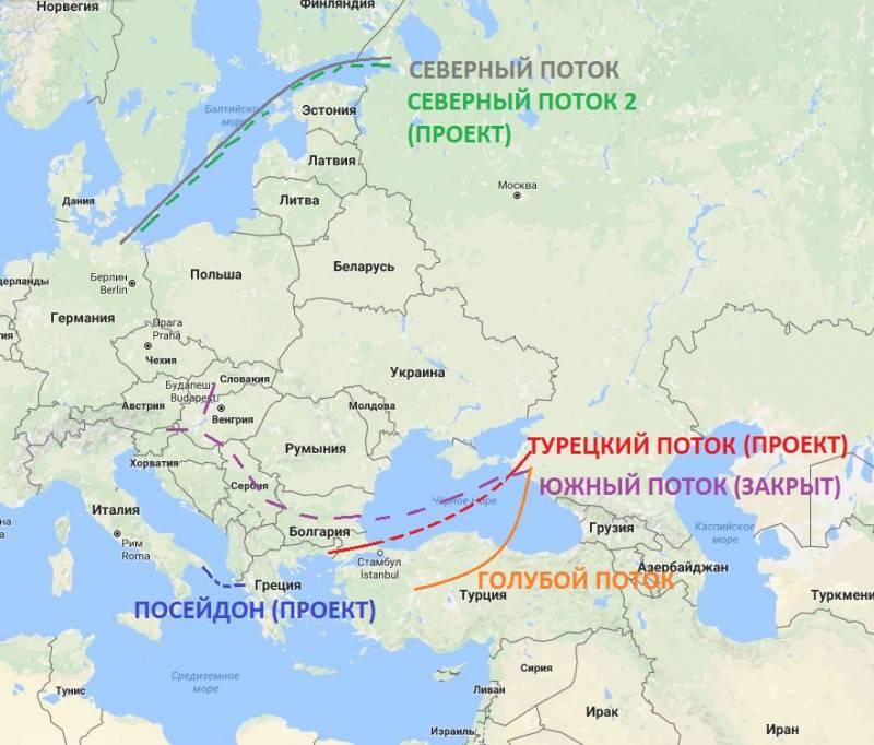 Отхватить кусок Чёрного моря. «Турецкий поток» в спину