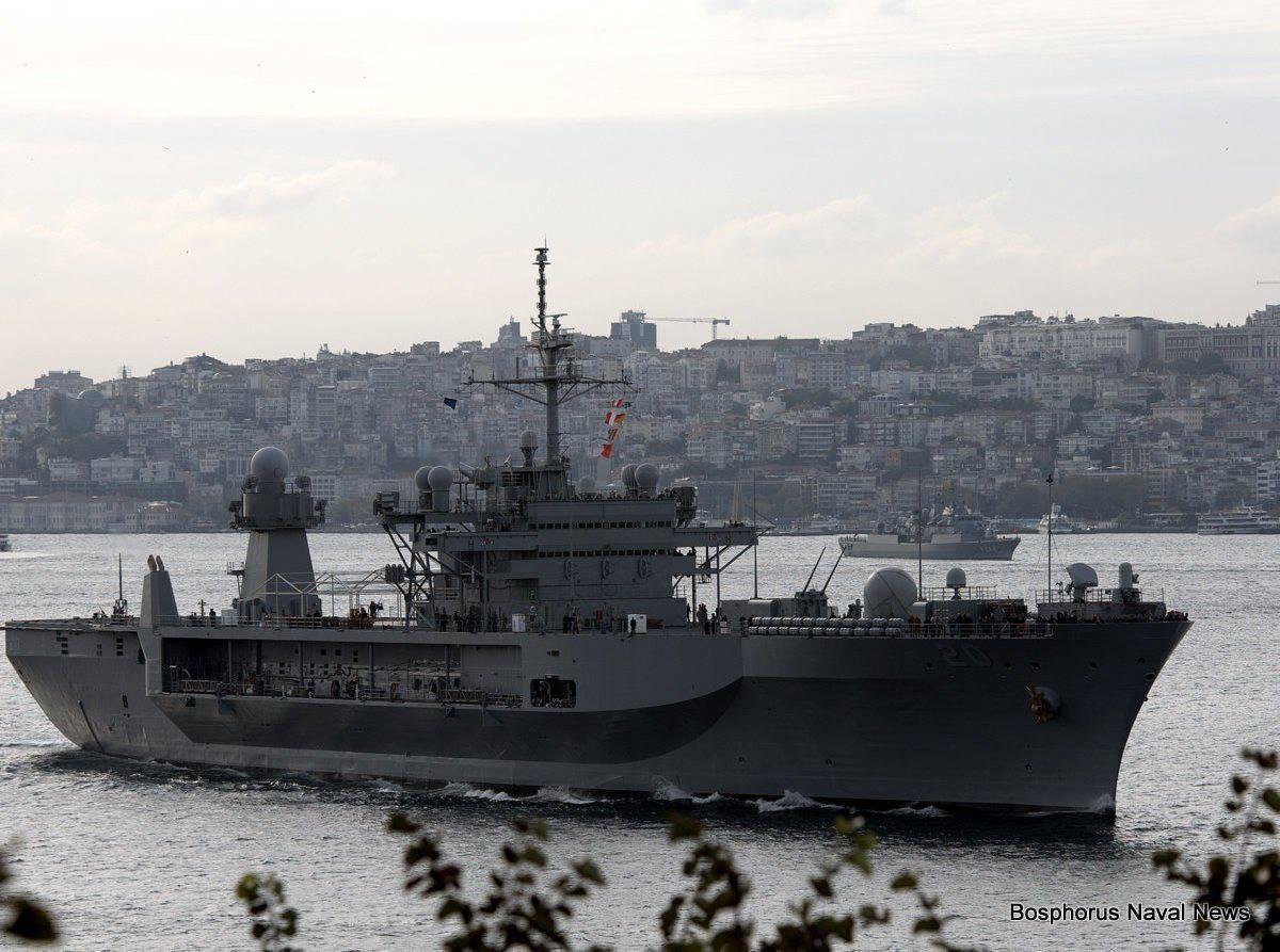 Корабль ВМС США повадился вГрузию с«дружескими визитами»