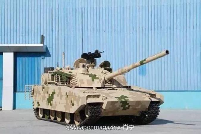 Новый экспортный лёгкий танк КНР