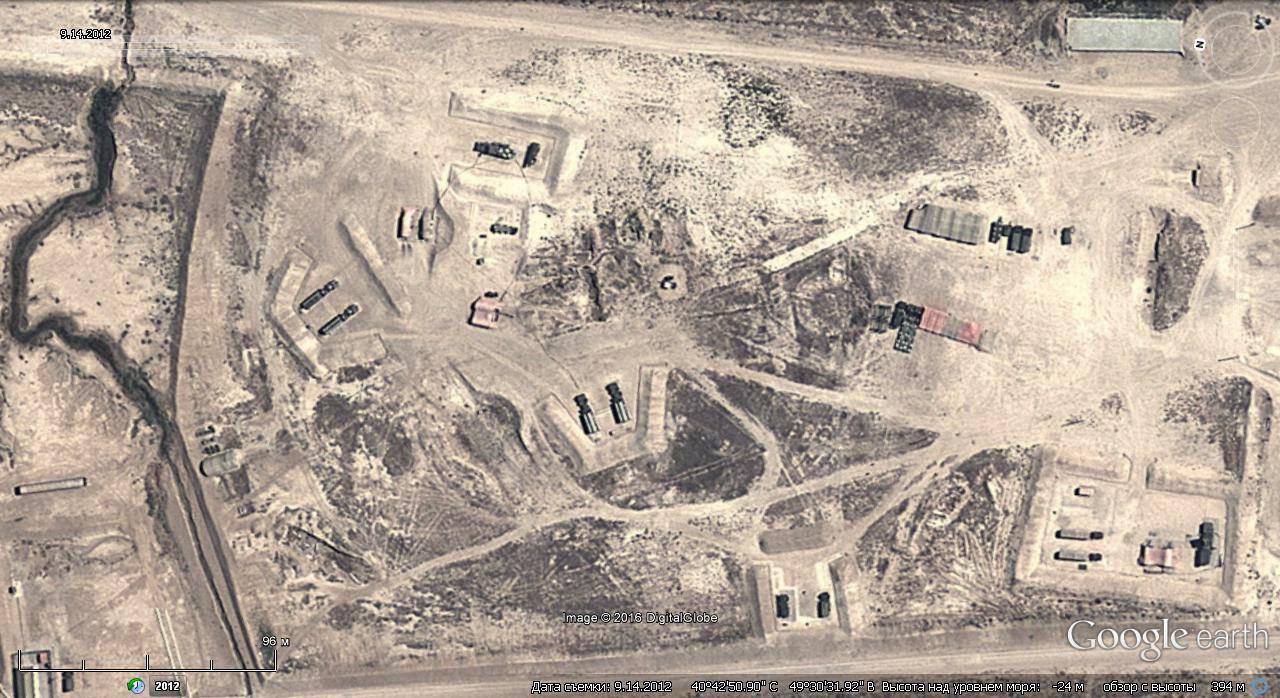 Точка уничтожения в Азербайджане
