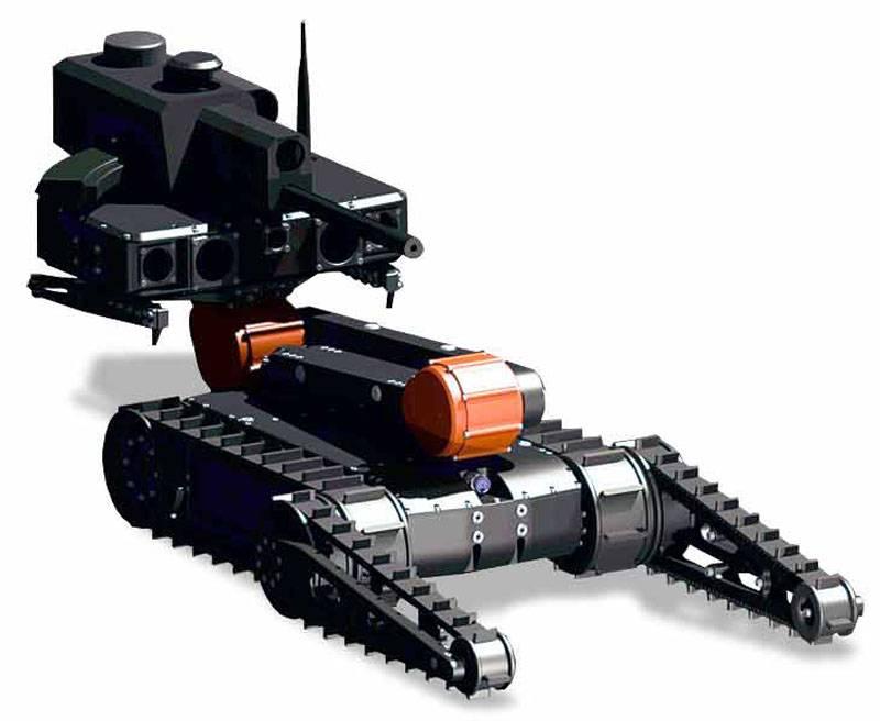 다음 파도 : 로봇 전쟁에 대한 경주