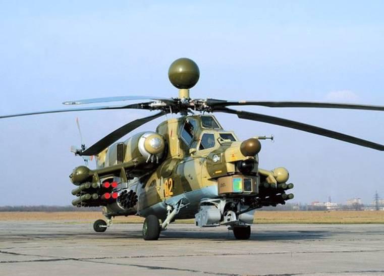 Начались лётные испытания модернизированного Ми-28Н