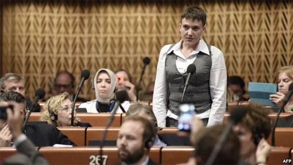 Савченко в ПАСЕ заявила, что недавно общалась с представителями ДНР