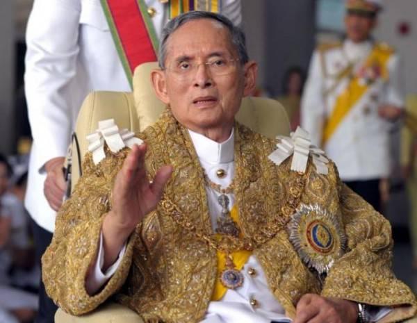 Tayland Kralı öldü