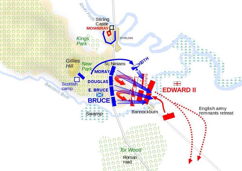 Баннокбёрн: «битва среди луж» (часть 2)