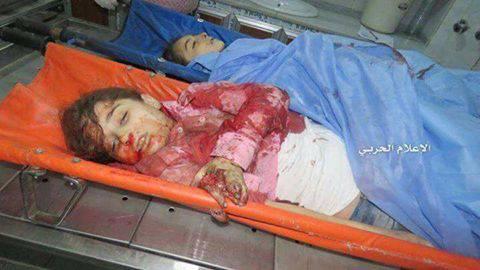 Дети под огнем сирийской оппозиции