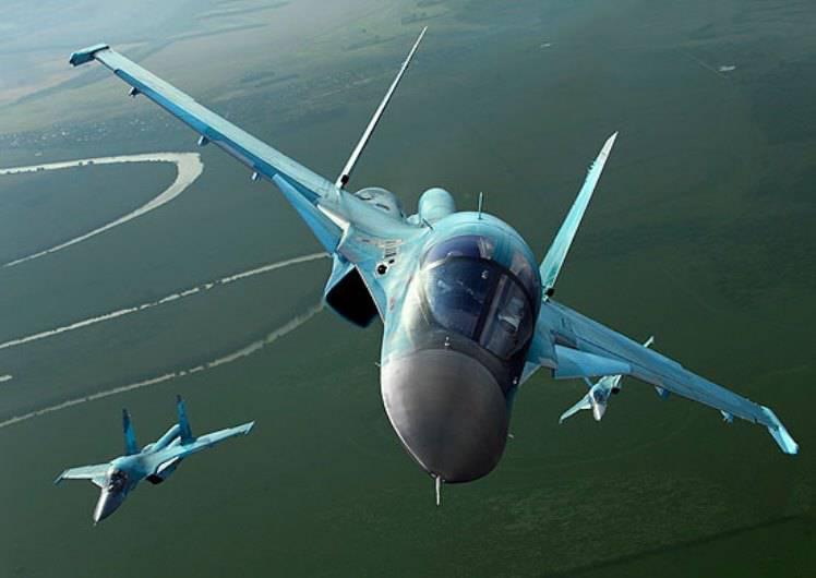 Су-34 совершили полёты в стратосферу