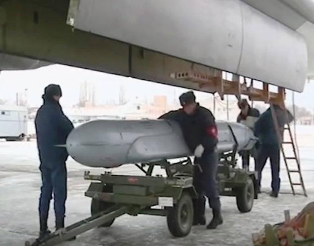 Крылатые ракеты Х-555 внесли свой вклад в разрушение инфраструктуры террористов в Сирии