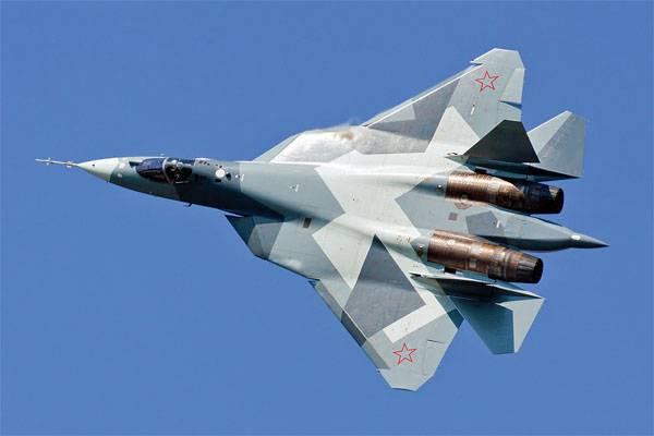 Виктор Бондарев: ВКС РФ получат первые пять Т-50  в 2017 году