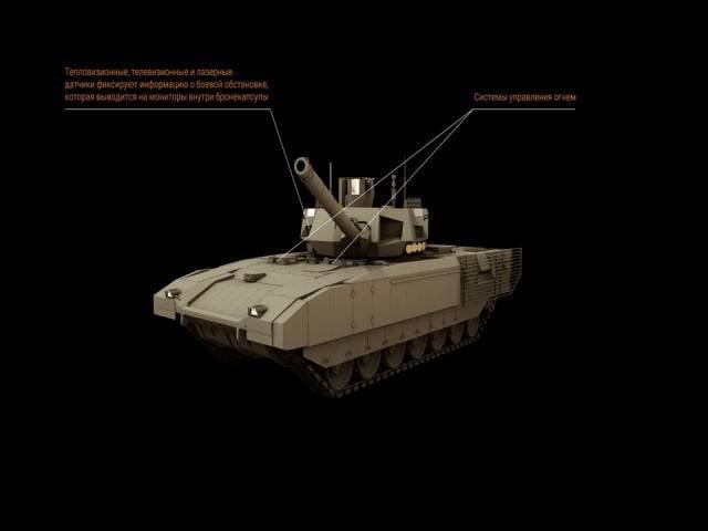 Т-14: как устроен самый секретный танк России