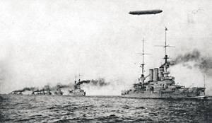 Дирижабли против флота