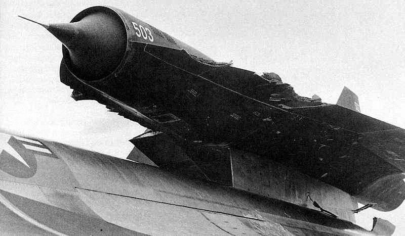 Беспилотный разведчик Lockheed D-21A (США)
