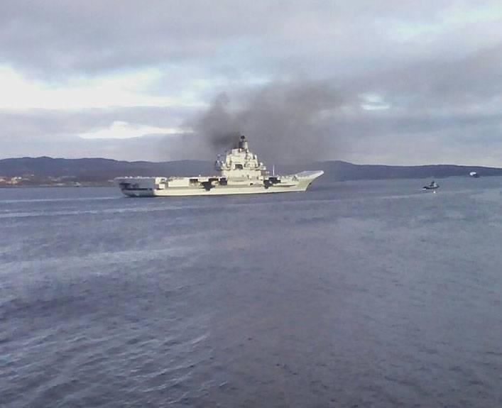 Дальний поход авианосной корабельной группы ВМФ РФ