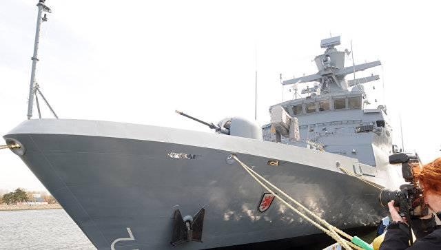 СМИ: Заказав для флота 5 корветов, Германия «даёт сигнал» России
