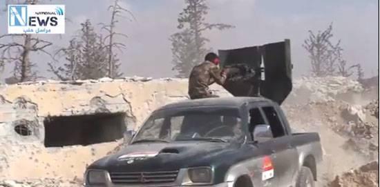 """Освобождение от террористов """"ан-Нусры"""" города Маардес и бои на юге Алеппо"""