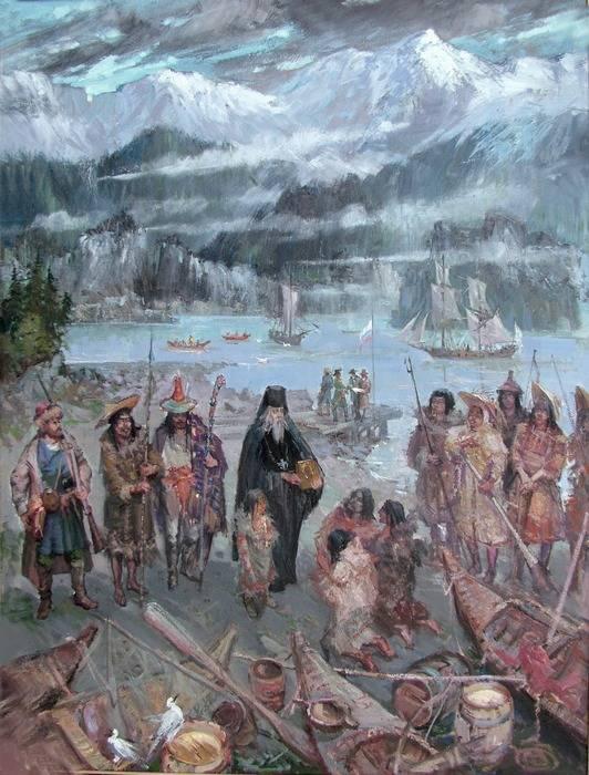 Русские на Аляске. Столетняя история колонизации американского побережья