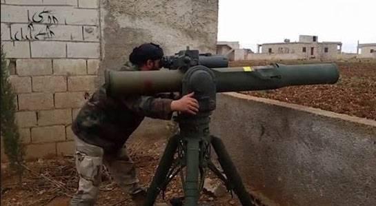 МО РФ: Боевики в Алеппо получили американские комплексы TOW