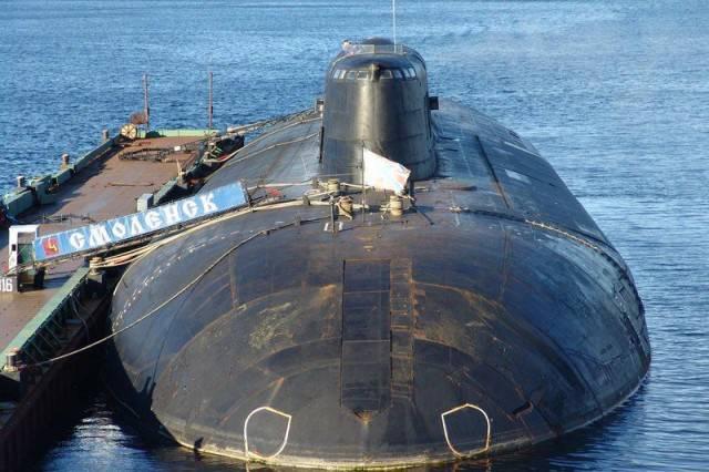 АПЛ «Смоленск» успешно поразила береговую мишень крылатой ракетой